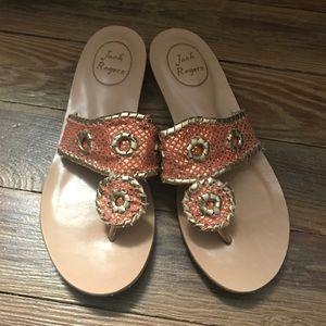 Jack Rogers sandals size 8.